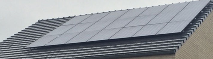 zonnepanelen project 1968 Barendrecht