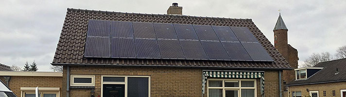 zonnepanelen project 1970 gouda