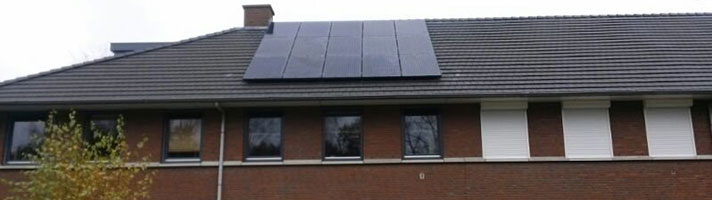 zonnepanelen project 1974 Den Haag