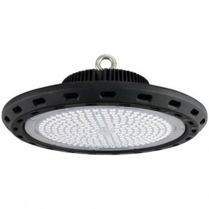 LED Magazijnverlichting / Highbay UFO Waterdicht 150W 6400K Helder/Koud Wit Rond 340x160mm Aluminium IP65