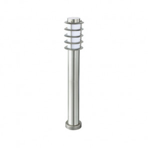 LED Tuinverlichting - Buitenlamp - Nalid 4 - Staand - RVS - E27 - Rond
