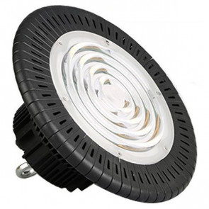 LED UFO High Bay - OSRAM - 100W High Lumen - Magazijnverlichting - Waterdicht IP65 - Helder/Koud Wit 6000K - Aluminium