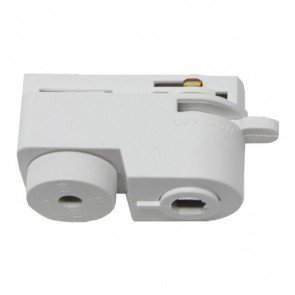 Spanningsrail Connector Hanglamp - 1 Fase - Wit