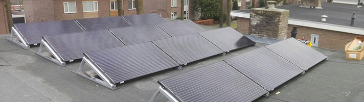 zonnepanelen project 1981 Breda